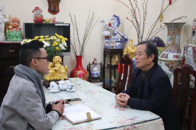 PV trao đổi cùng PGS.TS, chuyên gia văn hóa Phạm Ngọc Trung