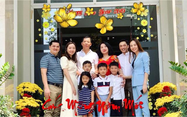 Dịp Tết Nguyên Đán năm nay, hai vợ chồng Cường Đô La đi nghỉ dưỡng tại Đà Lạt cùng bố mẹ hai bên.