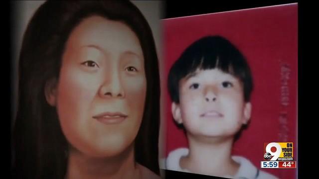 Chân dung bé trai bị sát hại và phác họa chân dung mẹ của nạn nhân (ảnh: ABC)