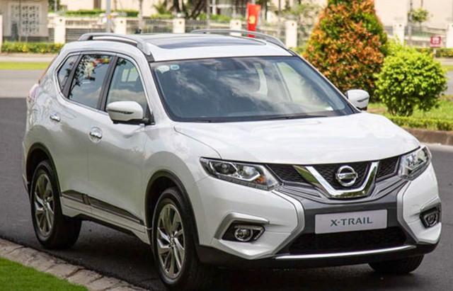 Mẫu xe Nissan X-Trail cũng nhận được mức giá ưu đãi từ 20-30 triệu đồng.