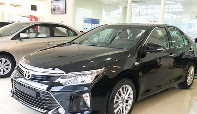 Mẫu Toyota Camry được sản xuất năm 2018 sẽ được hạ giá từ 25-40 triệu đồng.