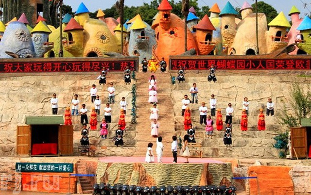 Vương quốc cổ tích dành riêng cho người lùn tọa lạc gần Côn Minh, Trung Quốc.
