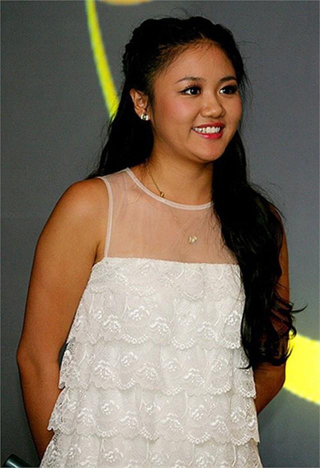 Văn Mai Hương thời điểm thi Việt Nam Idol có hình thể tròn trĩnh.