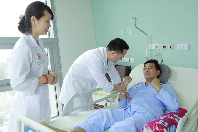 Đến nay tình trạng sức khỏe của bệnh nhân đã bình phục và có thể tiếp tục công tác.