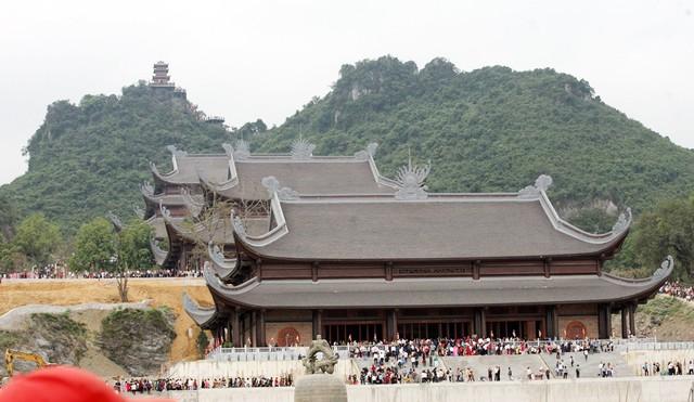 Công trình đang gấp rút hoàn thiện phục Đại lễ Vesak 2019 (Lễ Phật đản 2019).