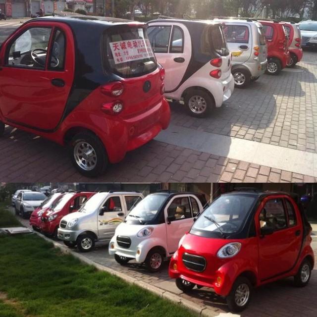 Ô tô điện mini xuất xứ Trung Quốc được rao bán rầm rộ trên mạng xã hội.