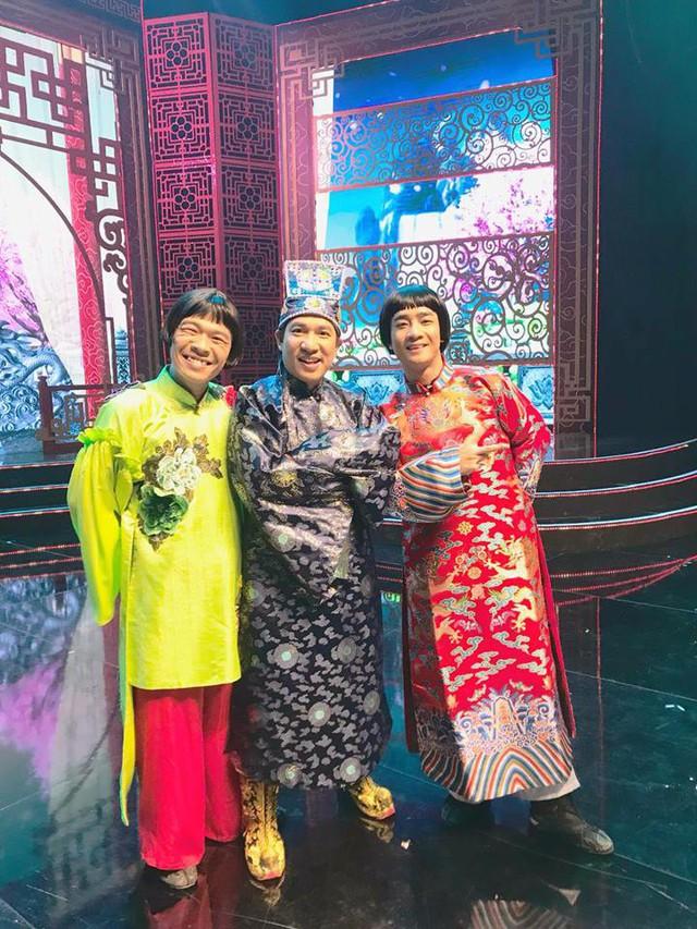 Hình ảnh Trung Ruồi trên sân khấu Táo quân 2019