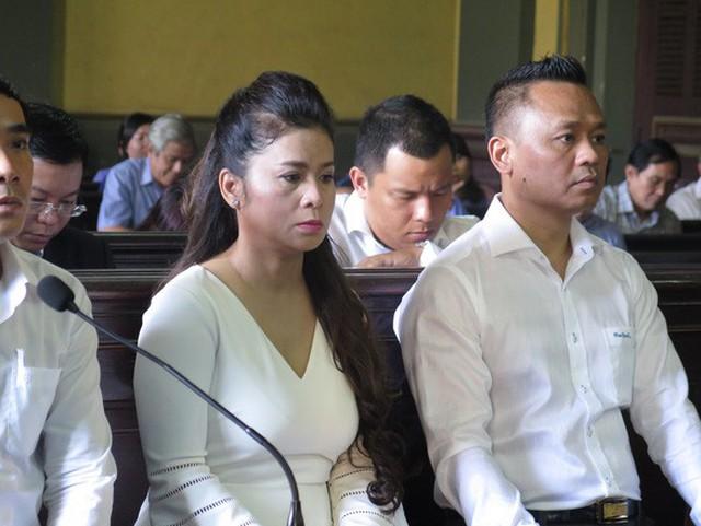 Bà Lê Hoàng Diệp Thảo tại phiên toà