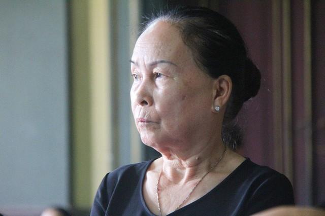 Mẹ ông Vũ trình bày tại tòa