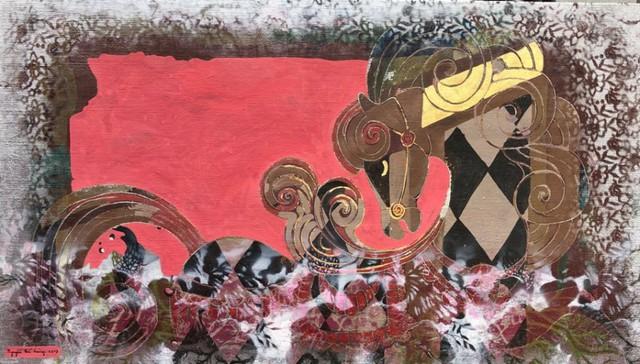 Con ngựa qua sự thể hiện của họa sĩ
