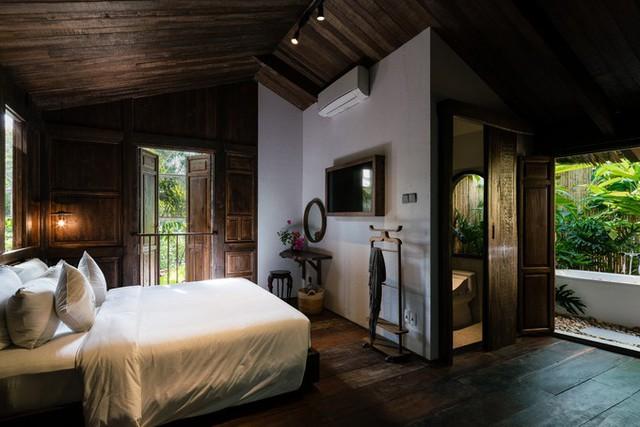 Gia chủ còn muốn có thêm hai phòng ngủ cho khách với bố trí riêng biệt như những bugalow trong resort.