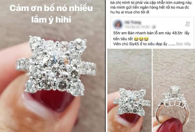 Hồi trước Tết, chân dài vướng ồn ào đi mượn ảnh nhẫn kim cương của người khác để sống ảo.
