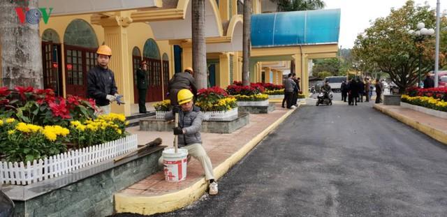 Công việc tu sửa nhà ga Đồng Đăng đã hoàn thành. Ảnh: VOV
