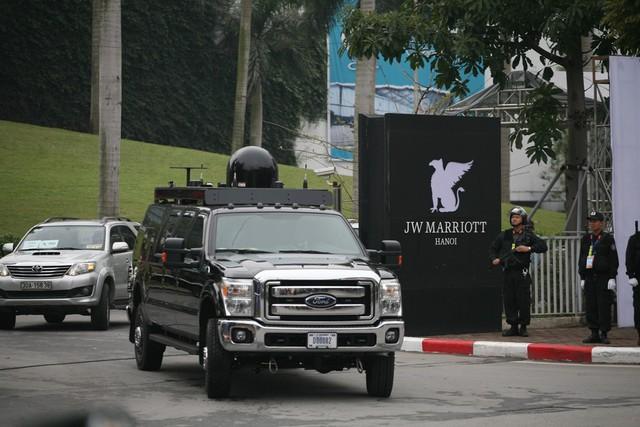 Tổng thống Mỹ có cuộc gặp gỡ đầu tiên tại hội nghị thượng đỉnh lần này với lãnh đạo Triều Tiên vào chiều 27/2.