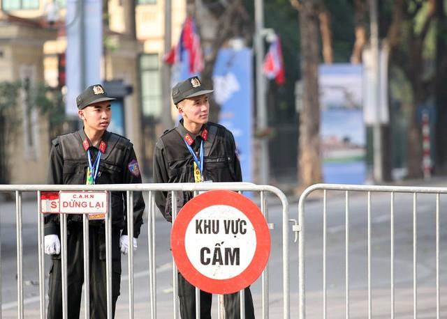 Các chốt chặng đều được lực lượng an ninh bảo vệ nghiêm ngặt.