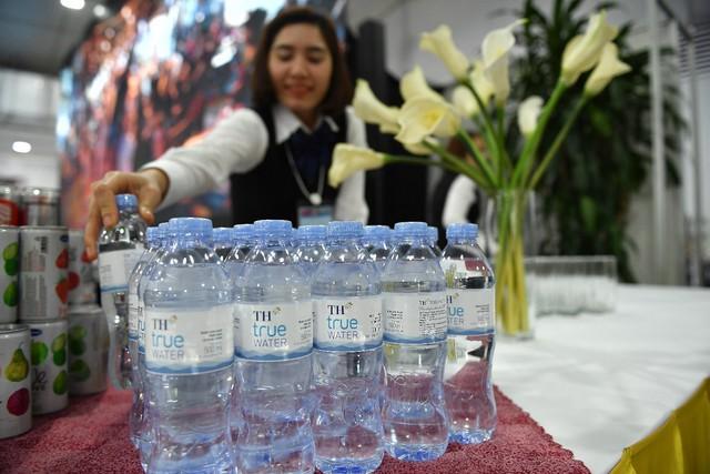 Nước tinh khiết TH true WATER là sản phẩm nước tinh khiết duy nhất được phục vụ tại sự kiện