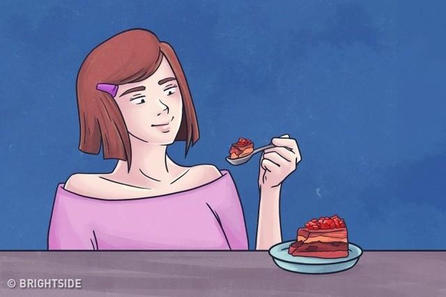 9. Ăn uống lành mạnh: Bạn cần chấp nhận sự thật cơ thể của mình không bao giờ hoàn hảo. Nhưng nếu thực sự yêu quý bản thân, bạn sẽ học cách ăn thực phẩm lành mạnh, uống đủ nước, ngủ đủ giấc. Cơ thể biết ơn bạn vì điều đó.