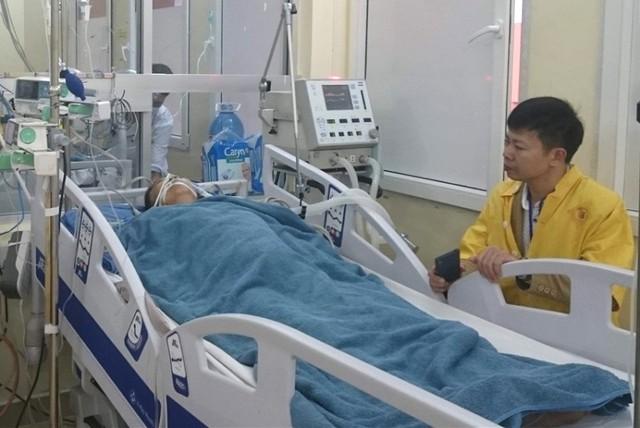 Theo bác sĩ, nếu gia đình bệnh nhân chuyển bà Mỵ đến chậm chút nữa thì nguy cơ tử vong là rất cao