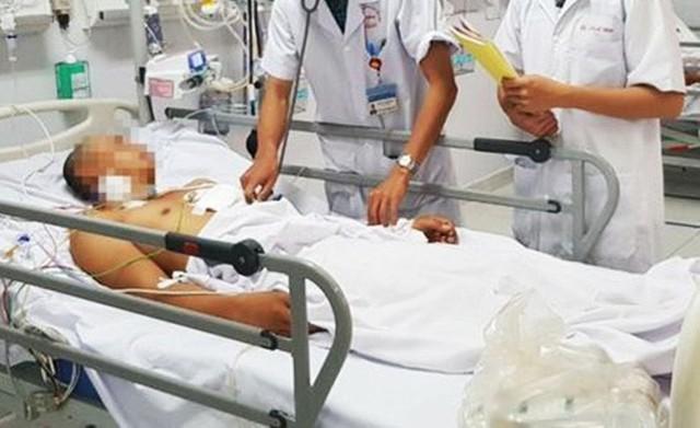 Bệnh nhân T.P.C (Ảnh: BVCC)