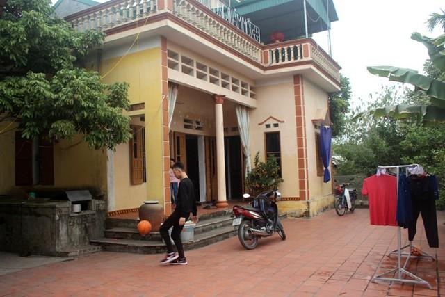 Căn nhà tại quê nội, nơi gia đình cầu thủ Tiến Linh về ăn Tết. Ảnh: Đ.Tùy