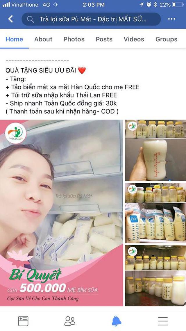 Ca sĩ Thu Minh phát khóc vì hình ảnh bị dùng quảng cáo trà lợi sữa