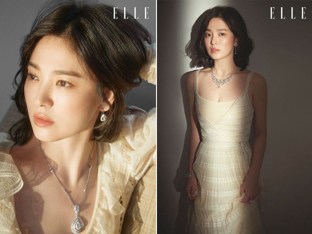 Phóng viên Elle hỏi Song Hye Kyo có thường nhớ về những hồi ức, hoặc nghĩ về những giai đoạn nào đó trong cuộc sống của mình hay không, và ngôi sao Hàn thổ lộ: Tôi hiếm khi lật đến những món đồ cũ trong nhà, nhưng đôi khi fan gửi đến cho tôi những bức ảnh cũ, khiến tôi nhớ lại những khoảng thời gian ấy.