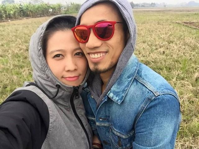 Khoảnh khắc hạnh phúc của vợ chồng Phạm Anh Khoa