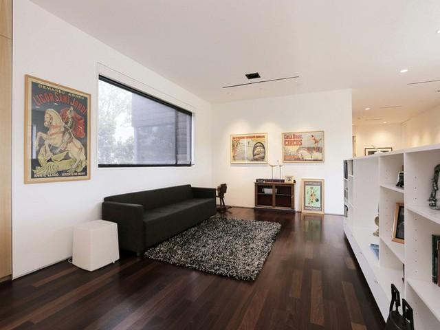Nhiều không gian giải trí được thiết lập giúp các thành viên trong gian đình thoải mái lựa chọn nơi sinh hoạt của mình.