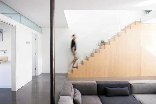 Mỗi đồ nội thất hay vật dụng trong nhà đều được tinh giản đến mức thấp nhất tạo sự thanh thoát, nhẹ nhàng cho không gian.
