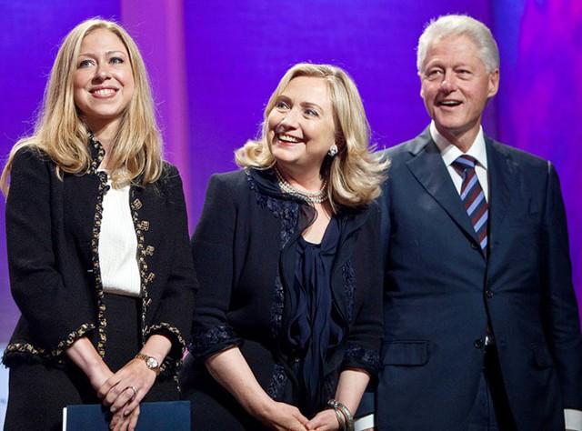 Gia đình bà Hillary Clinton. Ảnh: Getty Images.