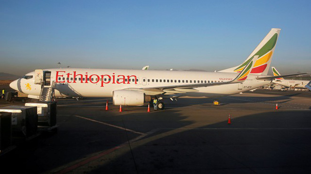 Một chiếc Boeing 737 của Ethiopian Airlines