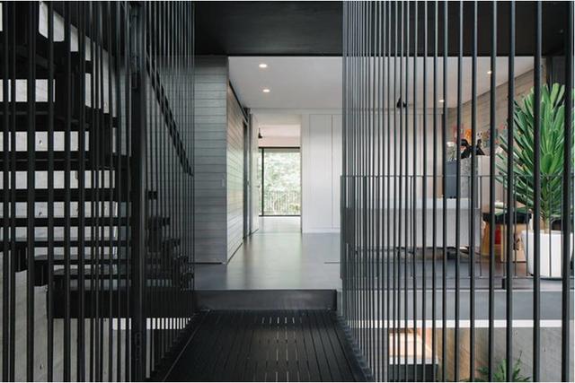 Các khu vực chức năng đều được tối giản trong cách lựa chọn màu sắc và nội thất.