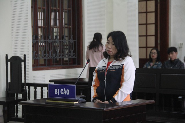 Lang Thị Liên đã khai nhận toàn bộ hành vi phạm tội của mình.