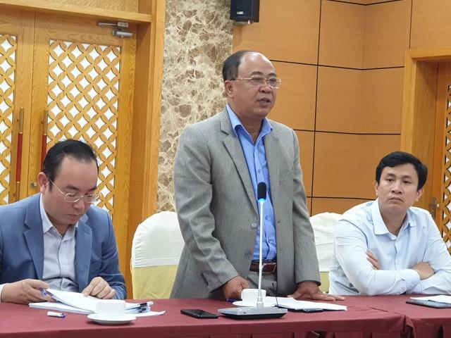 Ông Trần Xuân Đông thông tin tình hình dịch tả lợn châu Phi trên địa bản tỉnh. ẢNh: ML