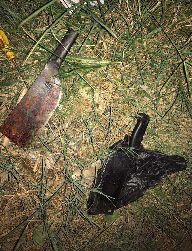 Hai con dao cơ quan công an thu giữ được