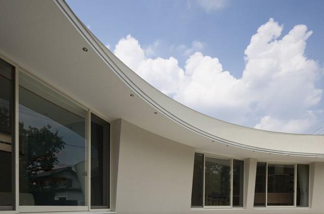 Nét mềm mại của kiến trúc.