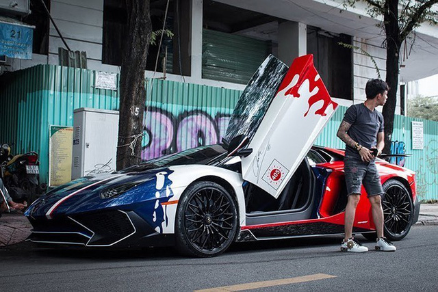 Đại gia Minh Nhựa bán siêu xe Lamborghini Aventador LP750-4 SV độc nhất vô nhị tại Việt Nam.