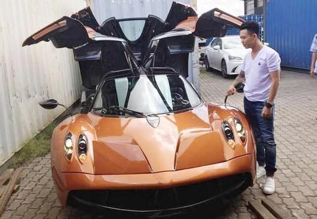 Thần gió Pagani Huayra của Minh nhựa là siêu xe đắt nhất Việt Nam với giá 80 tỷ đồng.