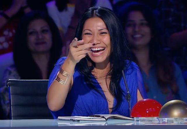 Giám khảo thích thú với phần biểu diễn của hai thí sinh nhí ở vòng Audition