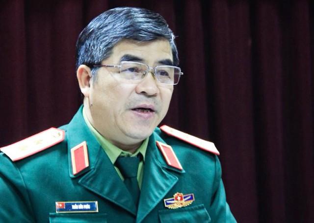 Trung tướng Trần Hữu Phúc, Cục trưởng Nhà trường (Bộ Quốc phòng). Ảnh: Dương Tâm
