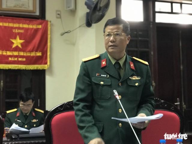 Đại tá Vũ Xuân Tiến - trưởng ban thư ký Ban Tuyển sinh quân sự Bộ Quốc phòng - Ảnh: NGỌC HÀ