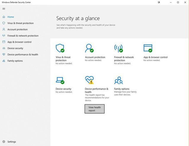 Đến Windows 10, Microsoft tích hợp Windows Defender khá sâu vào hệ thống nhằm đảm bảo an toàn cho người dùng