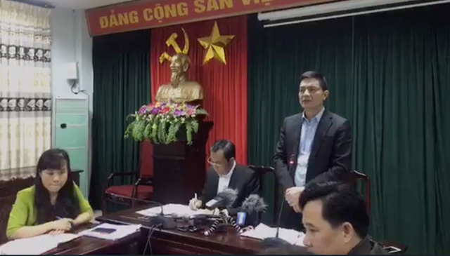 Sau nhiều ngày xảy ra vụ việc, UBND tỉnh Bắc Ninh đã tổ chức họp báo thông tin chính thức