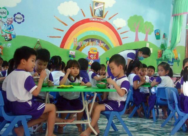 Các bếp ăn đạt tiêu chuẩn, đảm bảo an toàn thực phẩm giúp học sinh khỏe mạnh, phát triển tốt về thể chất và tinh thần. Ảnh: Internet