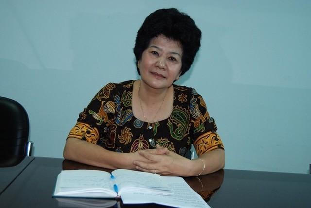 Bà Ninh Thị Hồng, Phó Chủ tịch Hội Bảo vệ quyền trẻ em Việt Nam kiến nghị điều chỉnh bổ sung một số hành vi quấy rối tình dục vào luật hình sự. Ảnh:TL