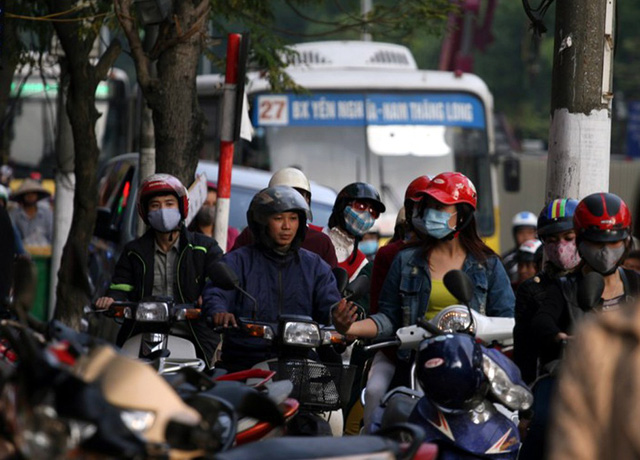 Việc hạn chế xe máy ở tuyến đường này giờ cao điểm nhằm giảm áp lực giao thông và nhằm hướng đến người dân sử dụng các phương thức giao thông công cộng.