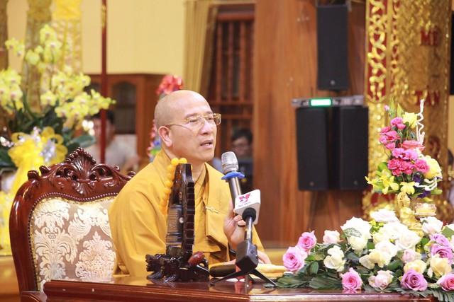 Đại đức Thích Trúc Thái Minh khuyên các Phật tử hãy bình tâm