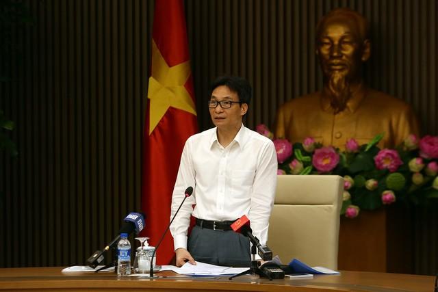 Phó Thủ tướng Vũ Đức Đam. Ảnh: Đình Nam/Chinhphu