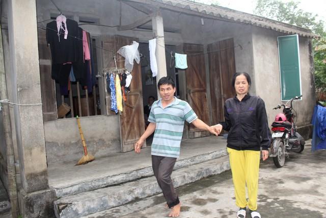 Gia cảnh vợ chồng chị Bất, anh Luyện lấy đi biết bao nước mắt của người dân thôn Quảng Giang. Ảnh: Đ.Tùy