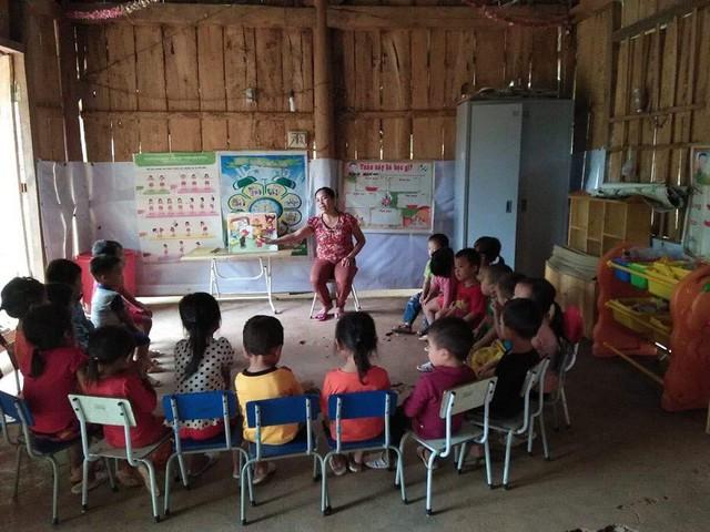 Hình ảnh về cuộc sống còn nhiều khó khăn của các bạn nhỏ tại Lai Châu